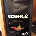 Espressokaffe av märket Ecuale.