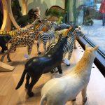gummidjur - hästar coh zebror