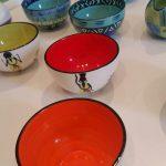 röd keramikskål från sydafrika
